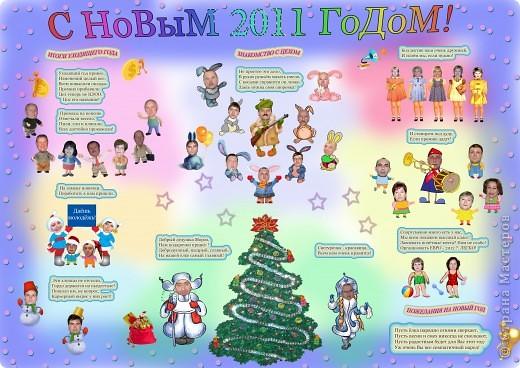 Как сделать плакат к новому году своими
