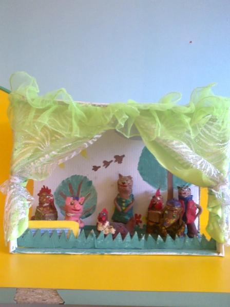 Кукольный театр поделка 28